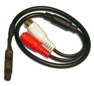 Микрофон активный MIC0361 для систем аудиорегистрации и аудиоконтроля