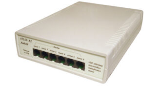ATL6T-a2: аудиоинтерфейс USB на 6 телефонных линий