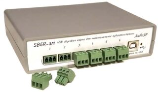 SB6R-aM: аудиоинтерфейс на 6 входов с питанием микрофонов